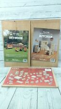 Vintage Dura Craft Miniature Furniture 3 Kits 1980-1990's