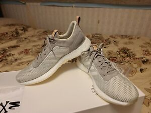 Adidas Consortium x Solebox DPR Boost Italian Leather shoes 11 sneakers Grey...