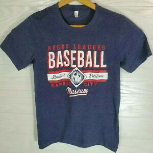 Negro Leagues Baseball Museum Limited Edition Gray T-Shirt Size Small