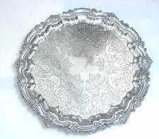 Silberplatte pl Schale Fussschale Baker Brothers England Birmingham silver plate