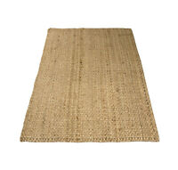 Charles Bentley 100X150Cm 100% Natural Jute Rug Hallway Runner Mat Carpet