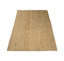 Charles Bentley 100X150Cm 100% Natural Jute Rug Hallway Runner Mat Carpet