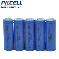 5 x 14430 3.7v Battery Lithium Li-ion 600mAh  Rechargeable Batteries Cell PKCELL