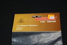 W254 VOLLMER Train Ho Maquette 5242 Caisse plastique decor diorama crates