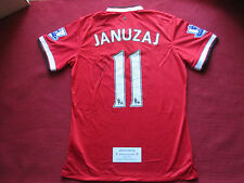 MANCHESTER UNITED ADNAN JANUZAJ SIGNED GENUINE 2014/15 SHIRT- BNWT - PHOTO PROOF