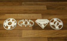 Batman Cookie Cutter, Superman Cookie Cutter, Green Lantern, Flash Cookie Cutter