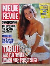 Neue Revue Nr 24/1991, Siegfried & Roy, Debby-Sue Voorhees, Rocchi Brüder