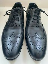 Women's Paul Smith, Men Only,  black leather Miller brogue shoes, size 38, new