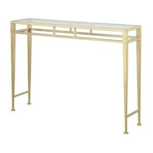 Convenience Concepts Gold Coast Julia Hall Console Table, Gold - 227899