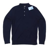 Burton Mens Size L Cotton Blue Jumper