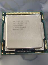 Intel Core i7-870 Quad Core 2.93GHz LGA1156 8MB Desktop Processor CPU SLBJG