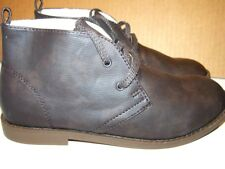 BTS CLEARANCE! NEW GAP Kids DESERT Boot ankle Brown Leather classic Big Kids 4M