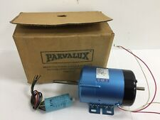 New Parvalux 125w SD12C Electric Motor 200/220v DC SHUNT 3000RPM 648782