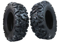 "2 New Front 25x8-12 KT MASSFX TIRE SET ATV TIRES 6 PLY 25"" 25x8x12"