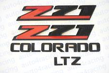 4PCS 2015-2019 Chevrolet Colorado Black Body Side Emblems 84471222 Black GM LTZ