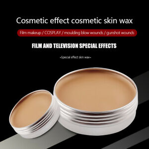 Fake Scar Wound Skin Wax Special Effects Makeup Cosplay Body Art Halloween Cospl