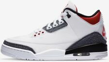 Air Jordan 3 SE Fire Red Denim Men's(8,8.5,9,10,11,11.5,12) GS(-)