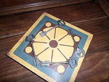 Antiquité 4 Clés Clefs double panneton key lock vintage