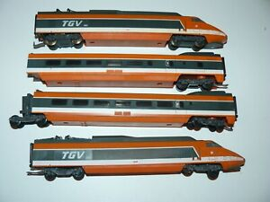 train électrique  sncf ho LIMA TGV PSE