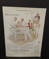 "The Saturday Evening Post Wilson Brothers ""75""  Ad 1957 X1#98"