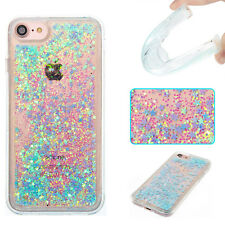 Hybrid Liquid Glitter TPU Case Cover For For Android Phone Samsung Huawei LG K8