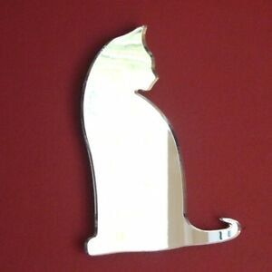 Sitting Cat Acrylic Mirror (Several Sizes Available)