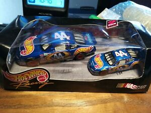 Hot Wheels Racing Kyle Petty #44 2 Car Pack  Scales 1:43 & 1:64 PLEASE READ!