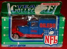 1990 MATCHBOX Model A Houston Oilers Delivery Van ~ NFL Limited Edition ~ RARE!