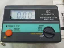 Kyoritsu Electric Digital Earth Tester 4105