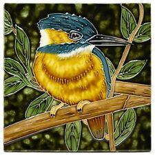 Benaya The Noble Kingfisher Tile 20cm Decorative Bird Wall Art Plaque Ornament