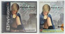 PLAY STATION PARASITE EVE II & OFFICIAL STRATEGY GUIDE USED