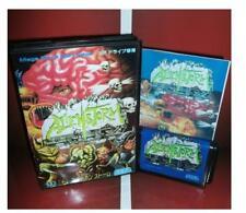 Alien Storm Japan Cover for Sega MegaDrive Video console system 16 bit Md