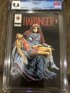 Harbinger 14 CGC 9.6 1993 Direct Market Edition DM Valiant Comics Magnus