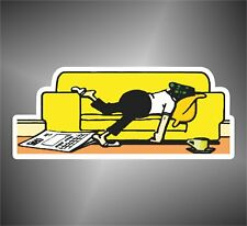 adesivo CARTOON ANDY CAPP  sticker aufkleber pegatina