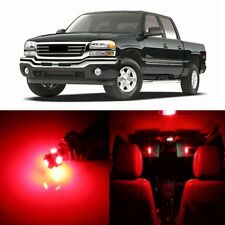 17 x Red LED Interior Light Package For 1999 - 2006 GMC Sierra + PRY TOOL