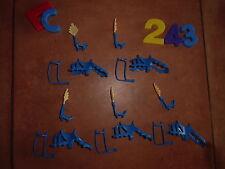 LOTE PLAYMOBIL, caballos, sillas de montar,chevaux playmobil, selles, LOTE 243