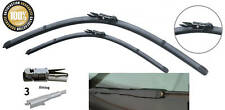 "26""24"" Specific Fit Aero Flat Front Windscreen Wiper Blades Guaranteed"