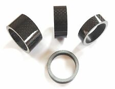 "Bike-Cycle-Bicycle Carbon fiber Gloss-Matt Headset Spacer 1 1/8""  3-5-10-15-20mm"