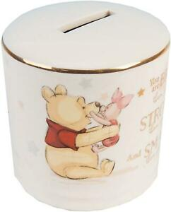 Disney Winnie the Pooh money box magical beginnings ceramic piggy bank
