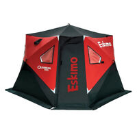 Eskimo Outbreak 450i 5 Person Portable Insulated Ice Fishing Tent House Shelter