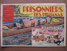 ALBUM-MAGAZINE COQ-HARDI n° 12  Prisonniers des piranhas