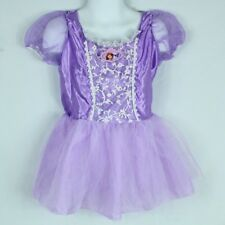 Sofia the First Child Costume Size Small Purple Dress Up Sparkly Disney