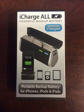 Triple C iCharge ALL iPhone iPad iPod Charger Battery Pack Black