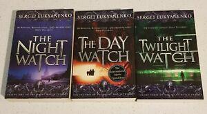 NIGHT WATCH DAY WATCH TWILIGHT WATCH By SERGI LUKYANENKO Night Watch Series 1-3