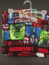 New Captain America Thor Hulk The Avengers Movie Sleep Lounge Men's XL Pants NEW