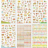 6 Sheets/Set Cute Cartoon Cat Paper Stickers for Scrapbooking Diary Decoration ^
