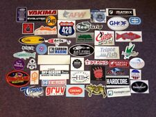 49 Fishing Stickers #49C Seigler Reels Star Bear Paw Tackle AFW Tsunami Tackle