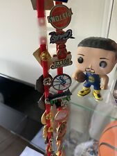 More details for full set of 33 nba badges with lanyard all mint condition