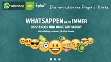 Whatsapp Sim Karte aktiviert Prepaid Sim Karte registriert Sim aktiv