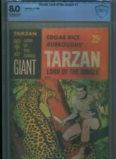 TARZAN LORD OF THE JUNGLE #1 HI GRADE CBCS COVER JESSE MARSH DRAMATIC COVER